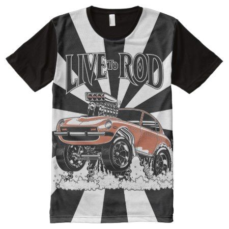 280Z Gasser All-Over-T-1 All-Over-Print Shirt - tap to personalize and get yours