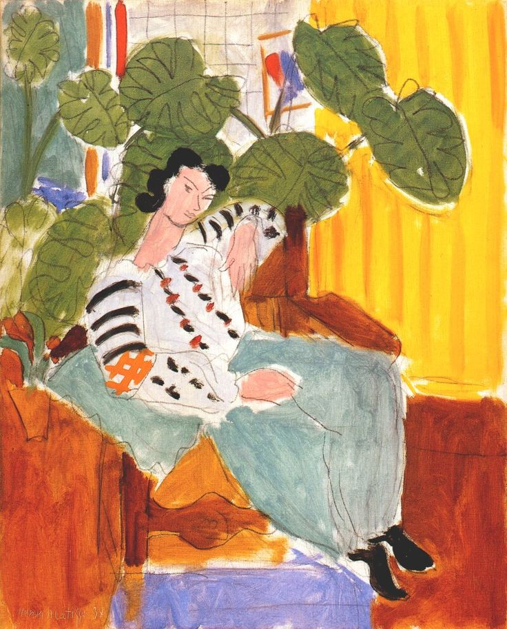 Small Romanian Blouse with Foliage by Henri Matisse, 1937