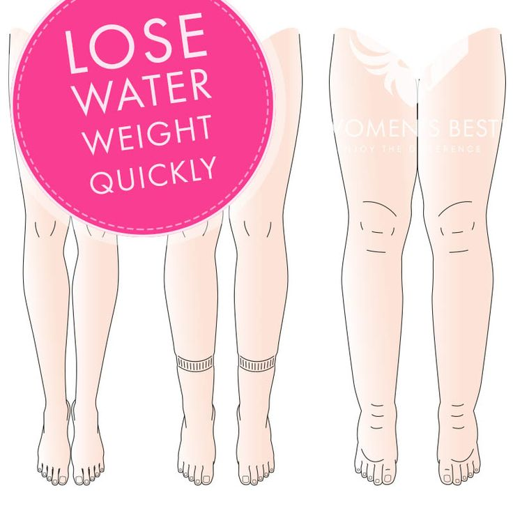 Need to fit into that dress? Lose water weight quickly with these 6 tips! #womensblog