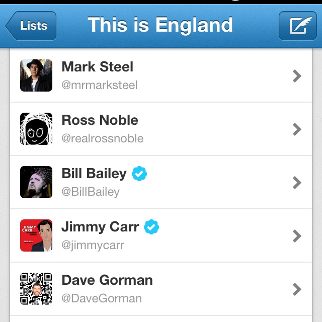 Twitter iPhone app has lists but then again it doesn't: you cannot add people to lists or edit lists!