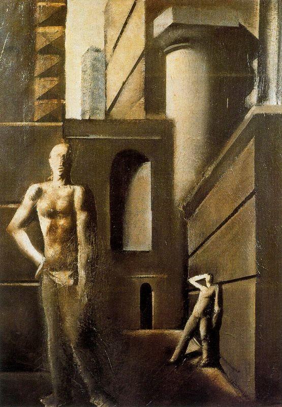 I costruttori (Mario Sironi, 1929, Museo del Novecento, Milano)