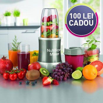 Nutrition Mixer Blender pentru mixat si maruntit