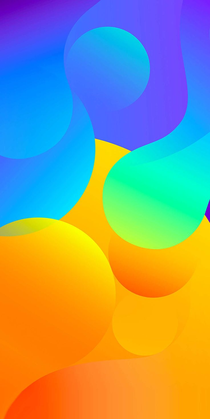 Colour Circles Abstract iPhone Wallpaper | Abstract HD Wallpapers 5