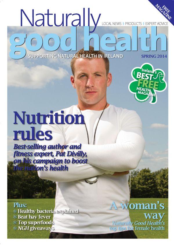 Naturally Good Health magazine spring 2014 cover