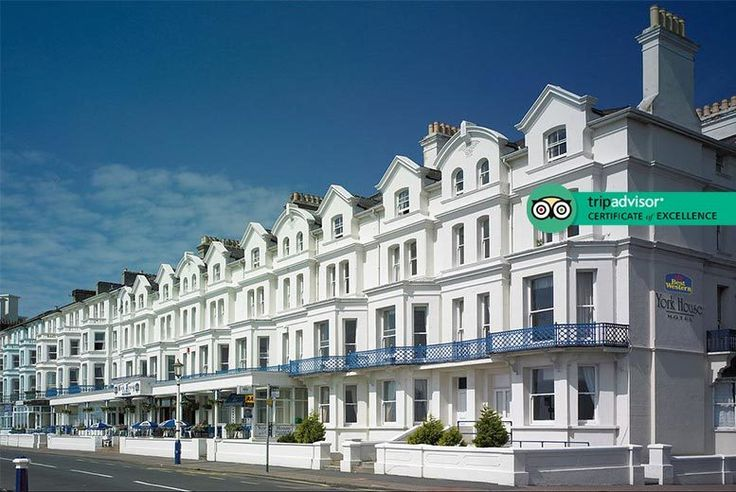 Discount UK Holidays 2017 Eastbourne Break, Breakfast & Late Checkout for 2 £59 (at Best Western York House Hotel) for an overnight Eastbourne break for two people with breakfast and late checkout of 1pm - save up to 72%