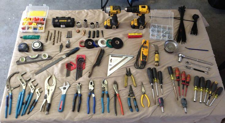 Industrial electrician tool kit Lineman's Pliers: Heavy ...  Industrial elec...