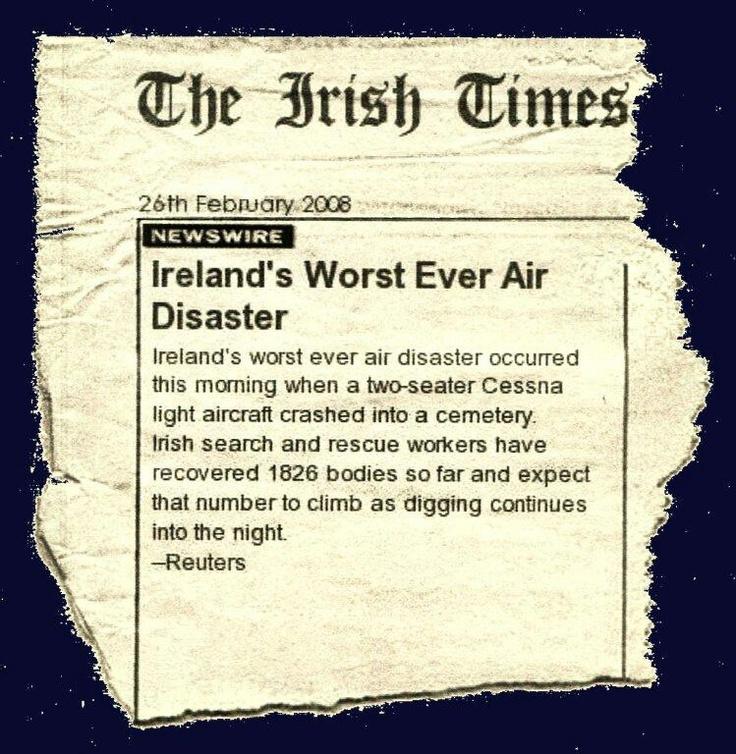 Irish Funny Jokes Friday