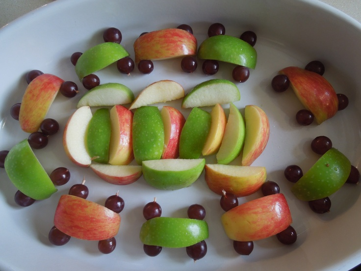 mario cart party food | Oval Track for the Apple Karts