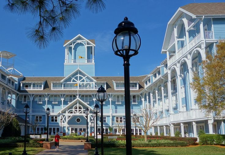 The Deluxe Resorts at Walt Disney World