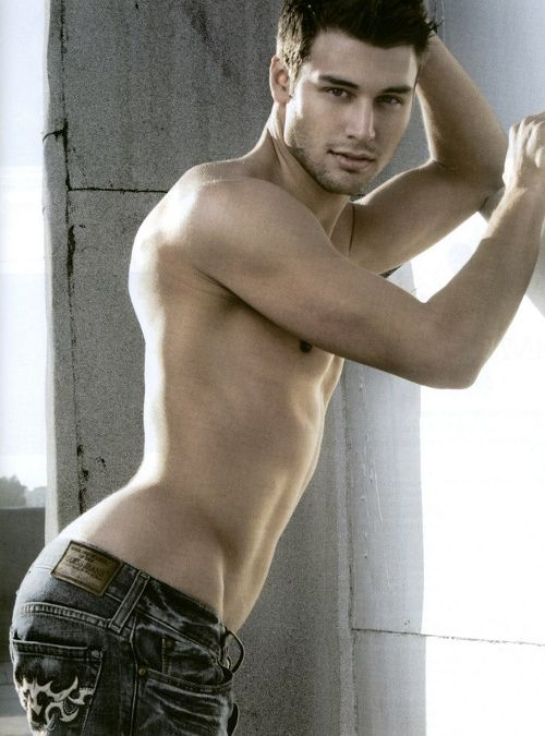 Just looking for some jeans...how did I wind up looking at this?  His name is Ryan Guzman...he is fine by me.