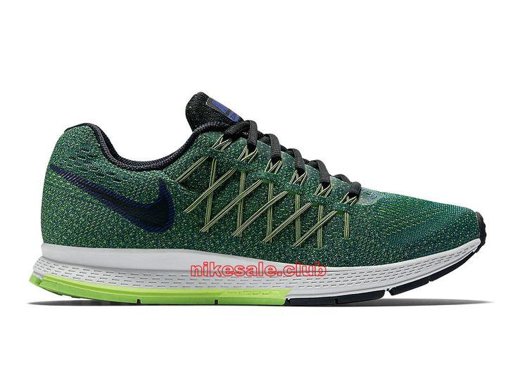 Chaussures De Course Nike Air Zoom Pegasus 32 GS Prix Pas Cher Pour Femme Olive Vert Noir 749433-403
