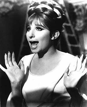 Barbra Streisand is such an inspiration! She's hilarious and incredibly talented!