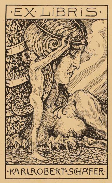 Ex Libris...F Schneider 1913