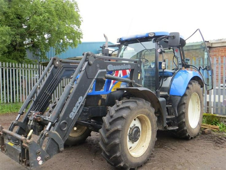 New Holland T6050 with Quicke 970 loader - For sale at CandO Tractors - New Holland Dealer, Tractors, Combine and Balers