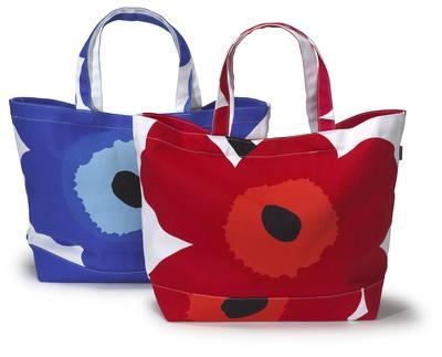 Bold patterns (inparticular Marimekko's poppy pattern) just make me happy.