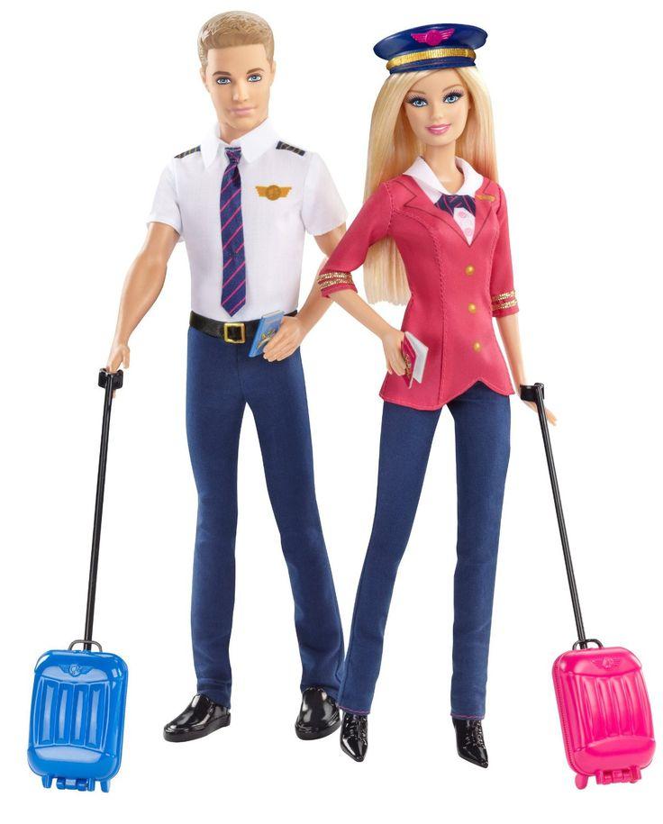 Barbie Careers Barbie and Ken Doll Giftset (2-Pack)