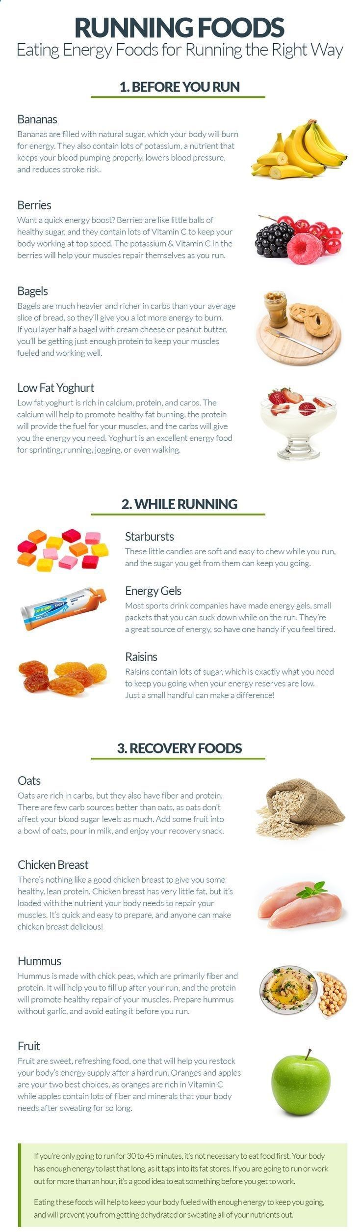 High Energy Foods for Running #exercise #healthy #workout