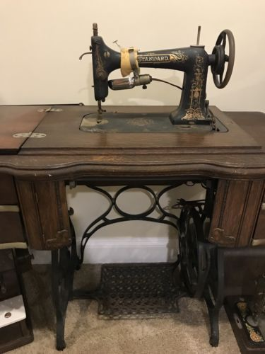 Antique Standard Sewing Machine Antiques Pinterest Antiques Beauteous Standard Sewing Machine