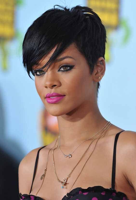 Pixie frizura Rijana (Rihanna)
