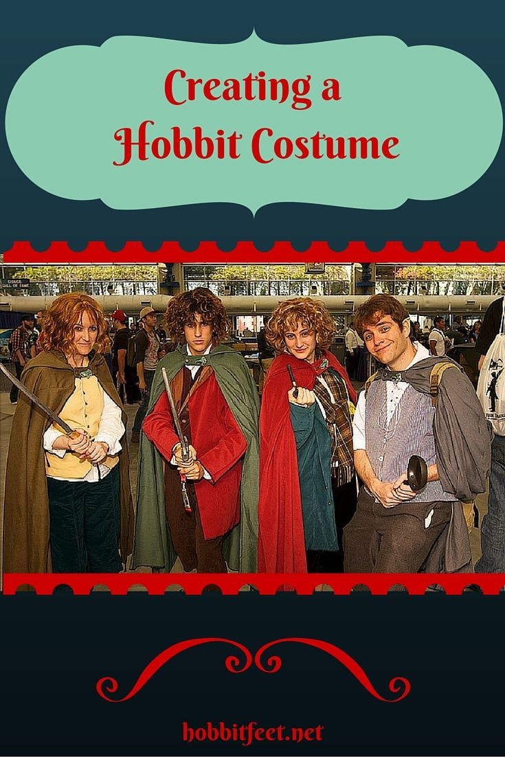 Here are some helpful and creative ideas for creating your own authentic looking Hobbit costume.