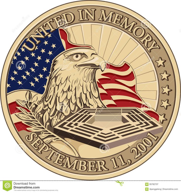United In Memory, September 11, 2001 Coin Editorial Photography - Image: 95782707