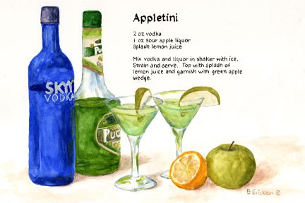 A classic Appletini but with some sparkle! Description from pinterest.com. I searched for this on bing.com/images