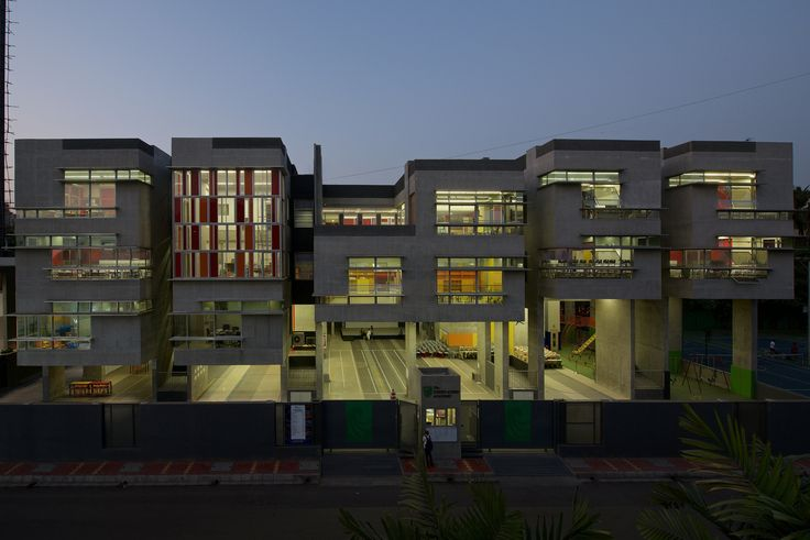 Gallery of The Green Acres Academy / Tushar Desai Assosiates - 1