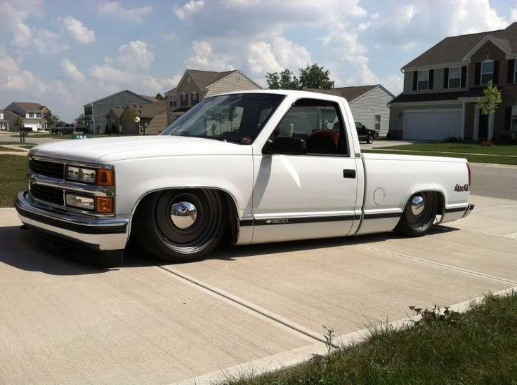 88 98 Ck On Smooth 22 Gm Transport Wheels Chevy Trucks