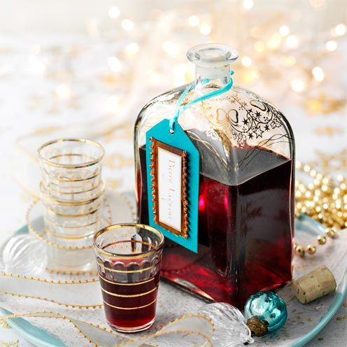 This tasty berry liqueur is easy to make and is the perfect Christmas pick-me-up