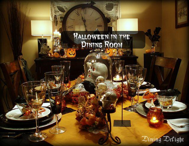 Best images about halloween eerie elegance dinner