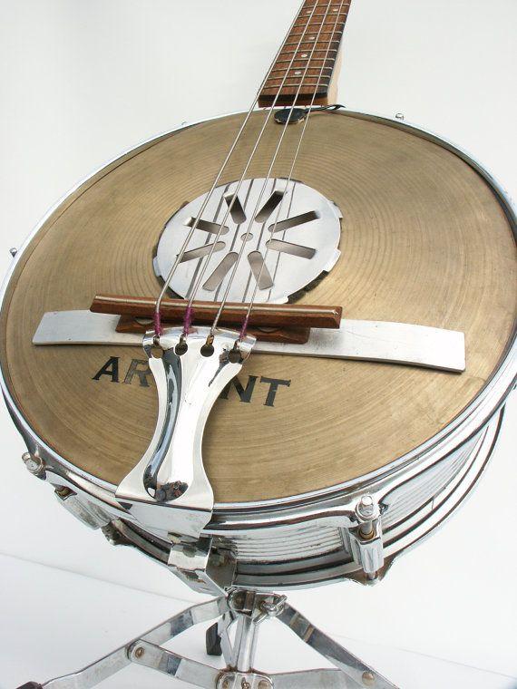 banjo bass handmade custom drums bass guitars and guitar. Black Bedroom Furniture Sets. Home Design Ideas