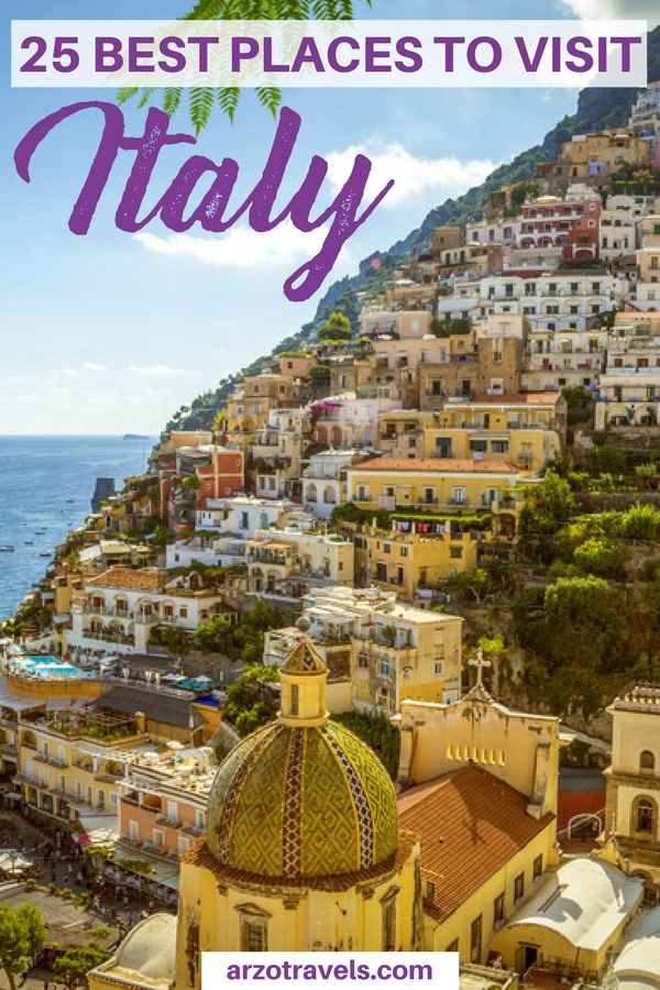 Planning a trip to one of the most beautiful countries in the world? Here are 25 of the bets places to visit in Italy I Where to go in Italy I Places to visit in Italy I best places in Italy #italy
