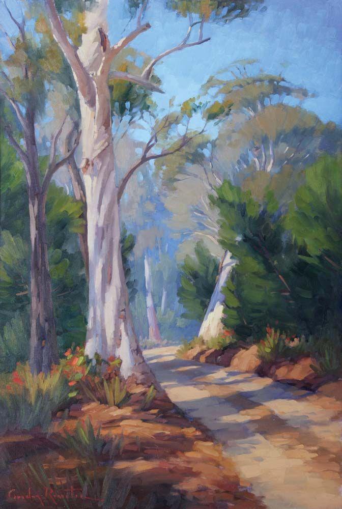 Australian Gum Tree Painting In 2019 Painting