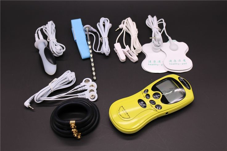 56.99$  Watch now - http://alitkc.worldwells.pw/go.php?t=32761230326 - 5PCS/Set Electro Shock Sex Toys:Butt Plug,Electric Penis Ring, Electrical Urethral Sound,Nipple Clamps,Electrode Gel Pad ES0086 56.99$