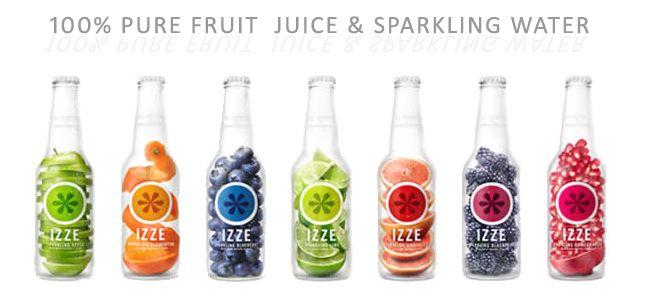 IZZEジュース(イズィ)フルーツ微炭酸ジュース