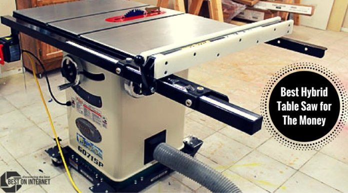#HybridTableSaw used for making quick cabinetry wood products. It gives you all of the functionalities of the cabinet saw. It takes less space for work. http://www.bestoninternet.com/tools-home-improvement/power-tools/hybrid-table-saw-money/