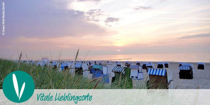 VITALER LIEBLINGSORT:  Ostseeküste, Strand von Warnemünde -  Aufgang 20  Und wer gleich übernachten will - unser neuer Partner A-JA freut sich auf Gäste: http://www.meine-vitalitaet.de/reisen/produkte/hotels-und-resorts/a-ja-resort-warnemuende-wellness-mit-meerblick.html
