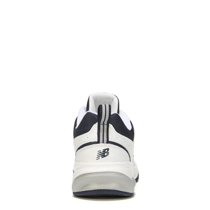 New Balance Men's 609 V3 Memory Sole Wide Sneakers (White/Navy) - 12.0 2E