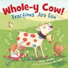 Whole-y Cow! Perfect for introducing fractions!