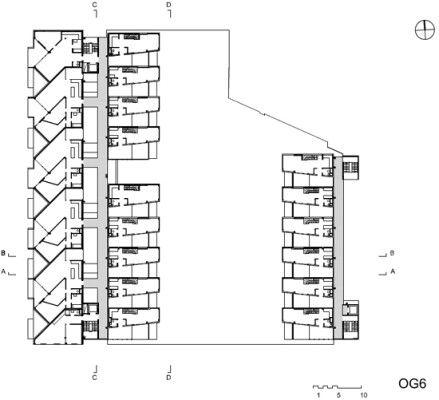 Bildergebnis für terrassenhaus laubengang
