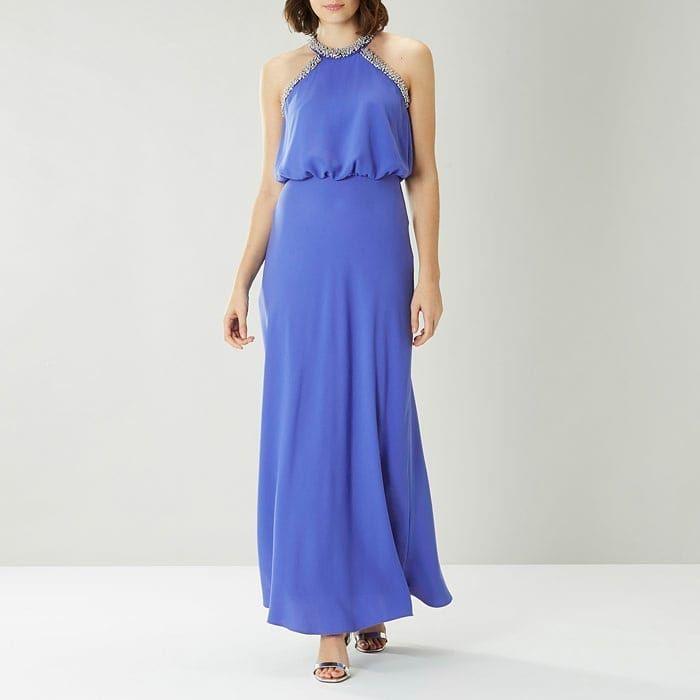 Coast Sale Meghan Embellished Dress Night Ootdfashion Love Dinner Fashion Style Instagram Embellished Maxi Dress Maxi Dress Maxi Dress With Sleeves