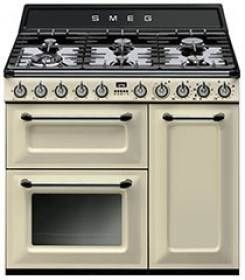 Smeg 90cm Thermoseal Victoria Freestanding Cooker - Model - TRA93P