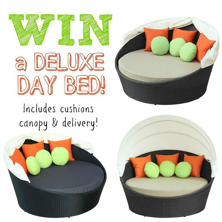Let us treat you & your family to this beautiful Day Bed with accessories ~ delivered to your door in time for Christmas!  Simply comment Enter here http://www.jumpstartrampolines.com.au/winpage.html