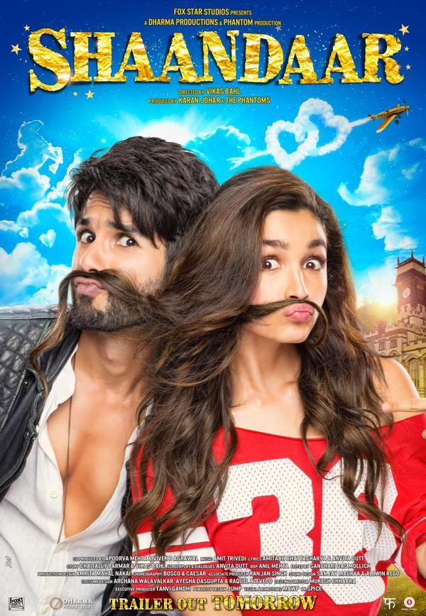 Shahid Kapoor, Alia Bhatt's 'Shaandaar's second poster is