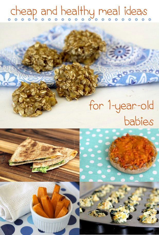 There are two secrets to feeding a one-year-old healthy food without breaking the bank: focus on whole food ingredients and repeat them in new ways throughout the week. These recipes can be adjusted to fit your toddlers needs and taste! www.ehow.com/...