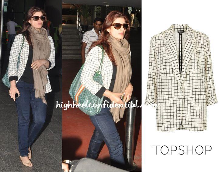 twinkle-khanna-topshop-checked-blazer