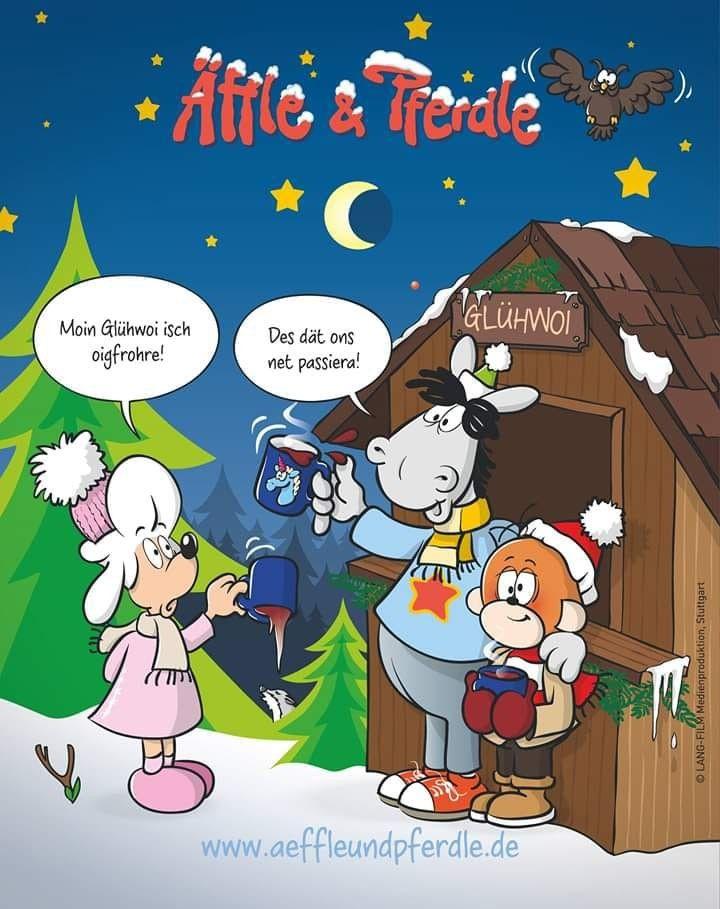 Pin Von Petra Smith Auf Winter Schwabische Spruche Mainzelmannchen Lustig