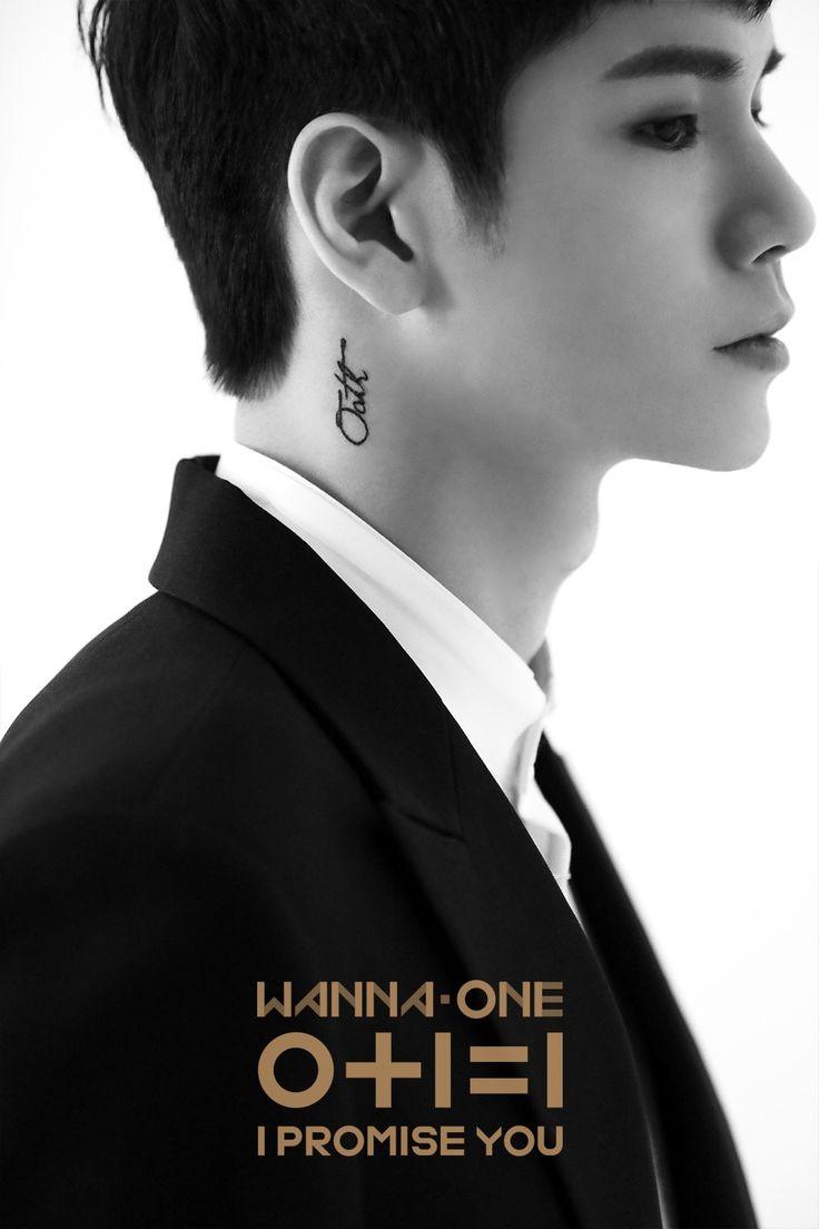 "WANNA ONE (워너원) 2nd Mini Album ''0+1=1 (I PROMISE YOU)'' #Official Photo (B-CUT) ""Oath"" (#OngSeongwoo / 옹성우)"