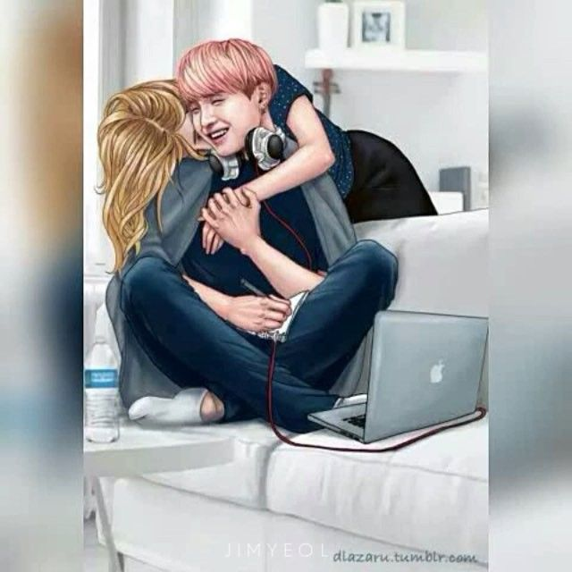 """These fanarts are #army goals❤️ Witch one do you wanna be? """"Imagine"""" 