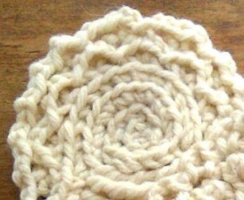 3D crochet edging horgolt szegély